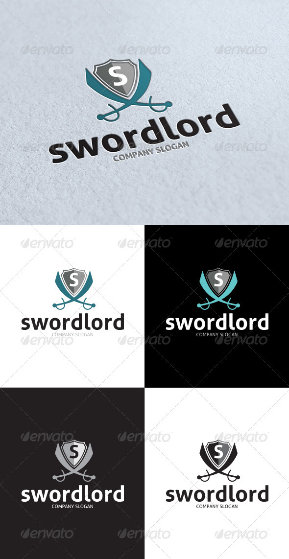 GraphicRiver Sword Lord Logo 3176211