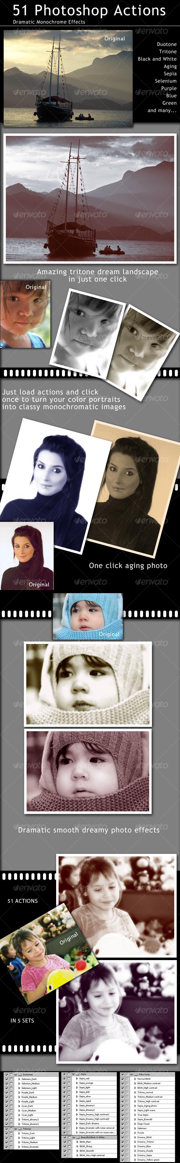 GraphicRiver 51 Amazing Photo Actions 112156