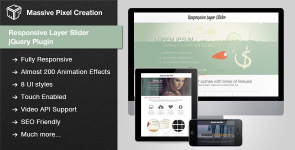 Responsive Layer Slider jQuery Plugin - CodeCanyon Item for Sale