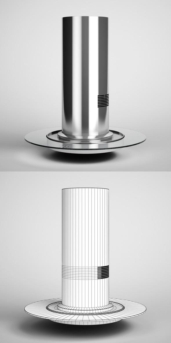 3DOcean CGAxis Cooker Exhaust Fan Hood 21 327539