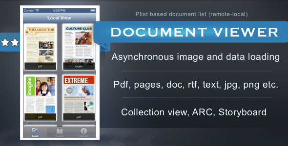 CodeCanyon Document Viewer App 3176901