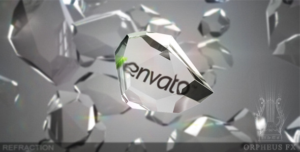 VideoHive Refraction Logo Reveal 3176950