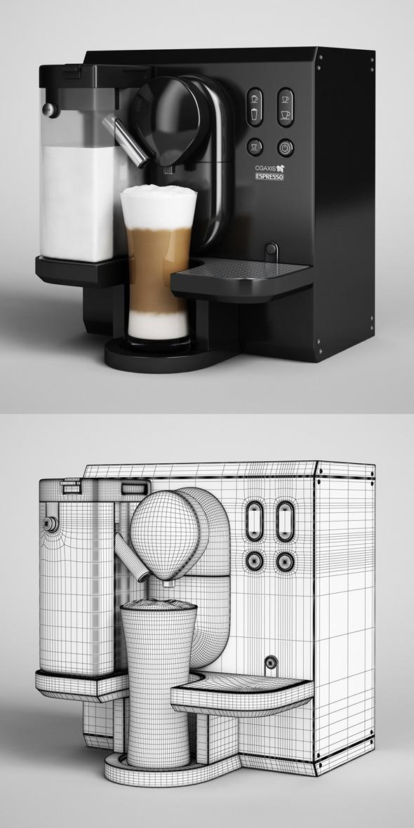 3DOcean CGAxis Espresso Machine 04 327636