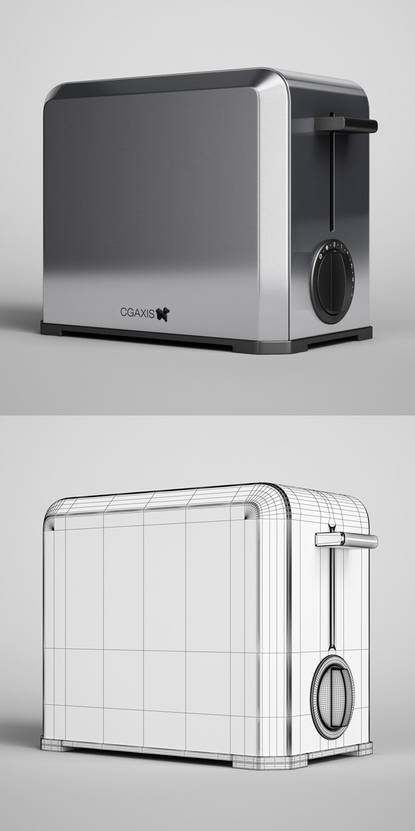3DOcean CGAxis Toaster 09 327684