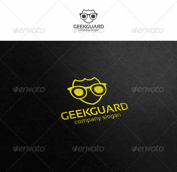 Geek Guard - Symbols Logo Templates