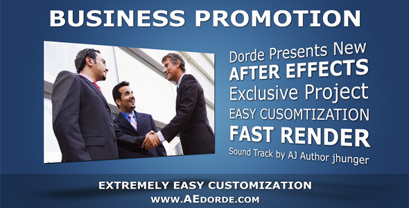 VideoHive Business Promotion Text Animations 3179039