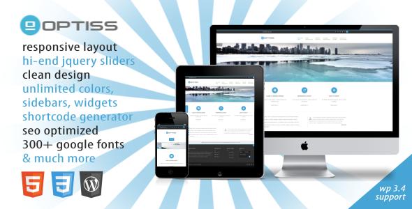 ThemeForest Optiss Responsive Business Wordpress Theme 2959977