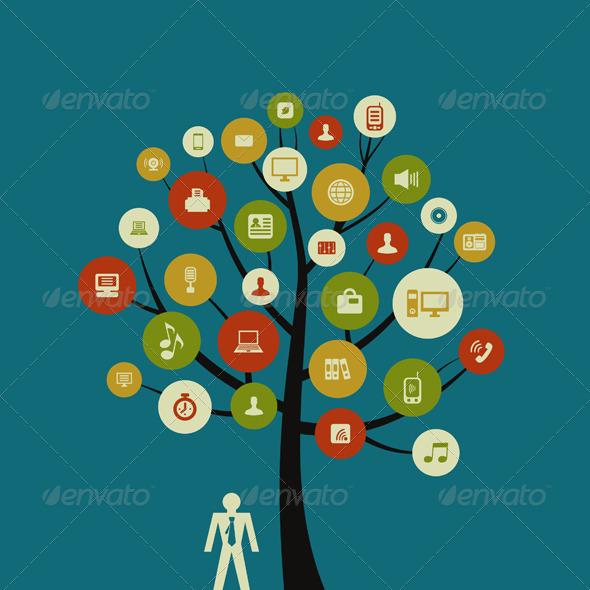 Tree business3 - Flowers & Plants Nature