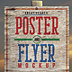 Poster Flyer Mockup - GraphicRiver Item for Sale