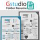 Gstudio Folder Resume - GraphicRiver Item for Sale