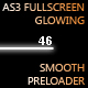 AS3 Full Screen Glowing Smooth Preloader - ActiveDen Item for Sale