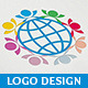 World Social Logo - GraphicRiver Item for Sale