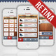 Fancy Store Retina Mobile Interface - GraphicRiver Item for Sale