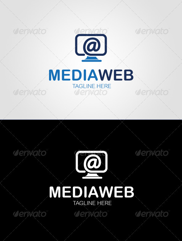Media Web Logo Template - Objects Logo Templates