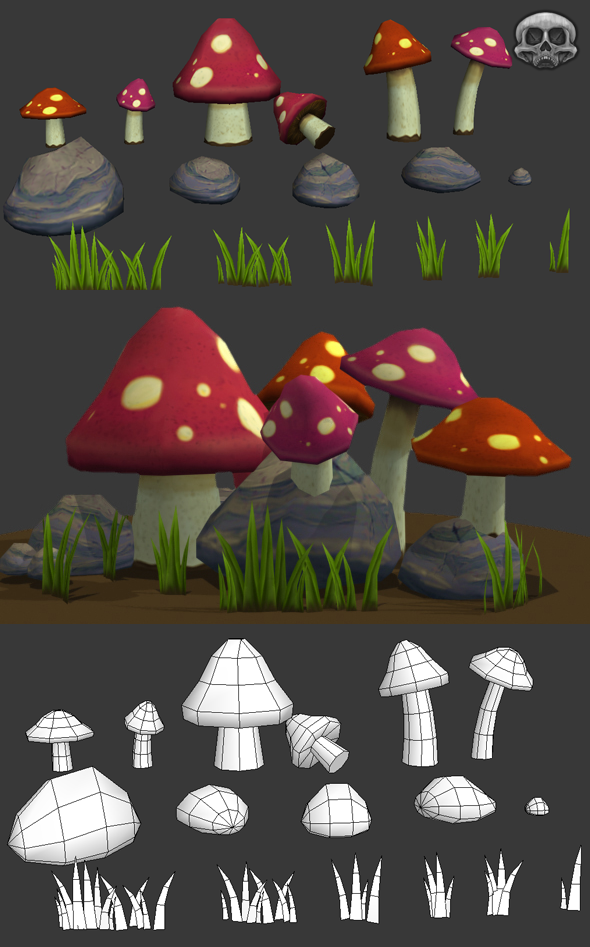 Low Poly Nature Asset Pack