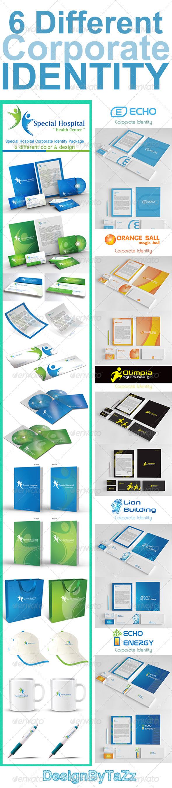 GraphicRiver Corporate Identity Bundle V1 3165550