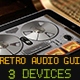 3 Devices Retro Audio Retina Ready GUI Pack - GraphicRiver Item for Sale