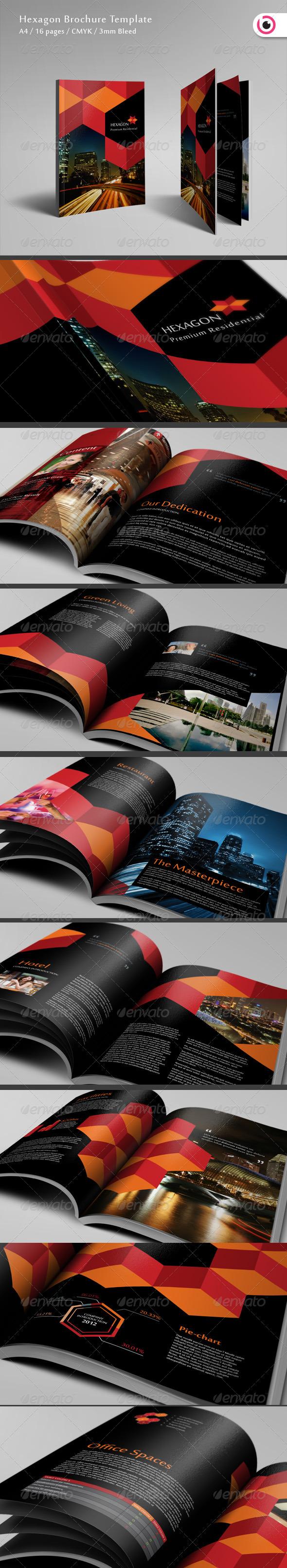 Hexagon Brochure 16 Pages - Corporate Brochures