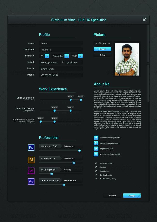 Ui Designer Resume graphic designer resume examples graphic designer cv sample uk ui designer resume template graphic designer resume Ui Designer Resume Resumes Stationery 01_preview1jpg