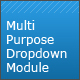 CSS Multi purpose dropdown module - CodeCanyon Item for Sale