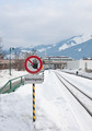 Railroad sign. Austria - PhotoDune Item for Sale