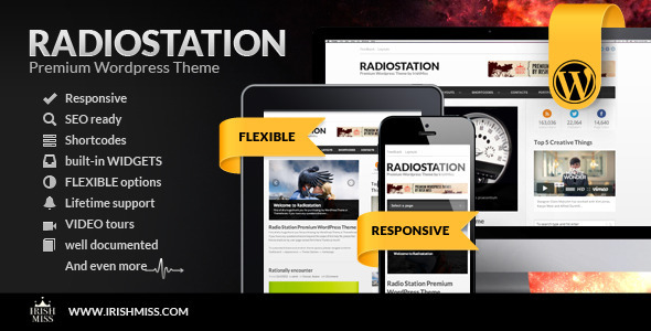 ThemeForest Radio Station Premium Wordpress Theme 3150770