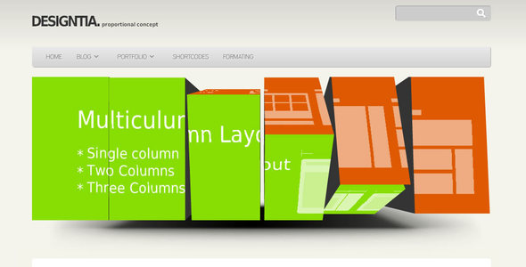 Designitia Wordpress Theme - Blog / Magazine WordPress