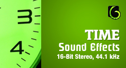 Time - Sound Effects - 16-Bit Stereo, 44.1 kHz