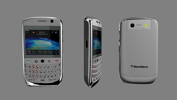 Blackberry Phone - 3DOcean Item for Sale