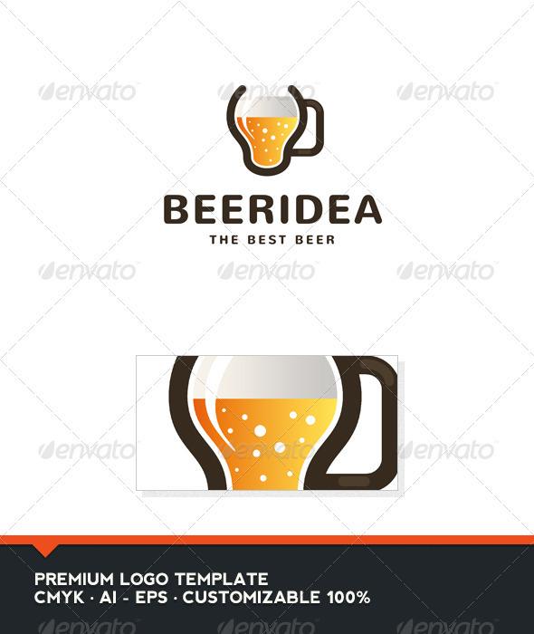Beer Idea logo Template
