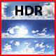 3er HDRI sky pack 01 - blue sky, sunny cloudy