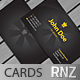 Matte Black Business Cards - GraphicRiver Item for Sale