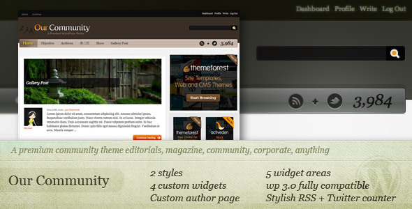 ThemeForest Our Community 15953