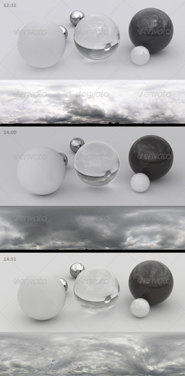 3DOcean 3er HDRI sky pack 02 bad weather storm rain 3192220