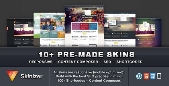 Skinizer - Multipurpose WordPress Theme