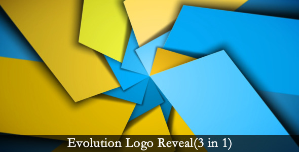 VideoHive Evolution Logo Reveal 3 in 1 3192986