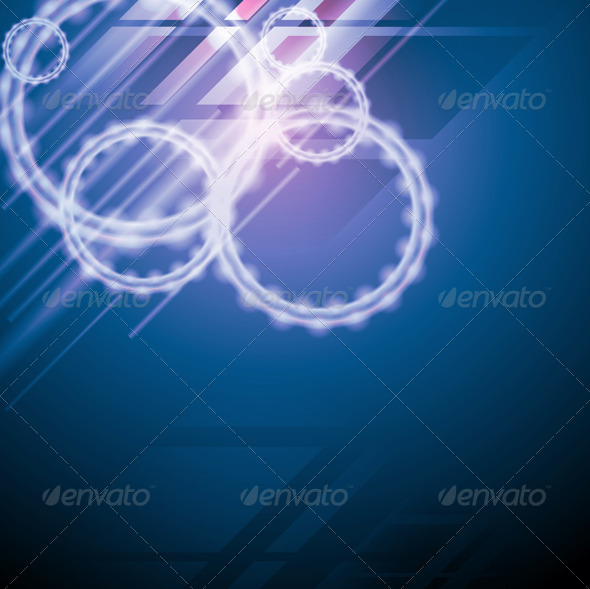 Abstract elegant design. Hi-tech style. Vector - Backgrounds Decorative