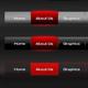 Modern navigation menu - GraphicRiver Item for Sale