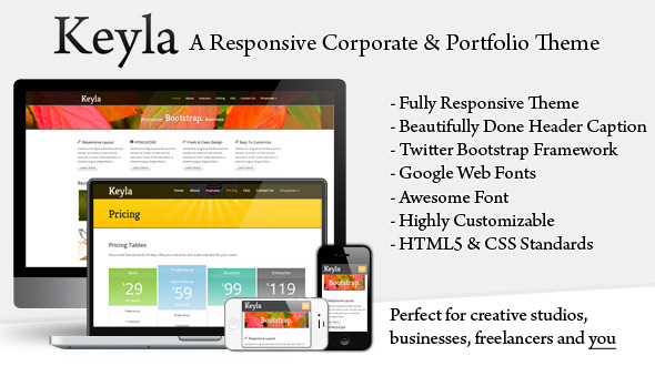 Keyla - Responsive Business Theme