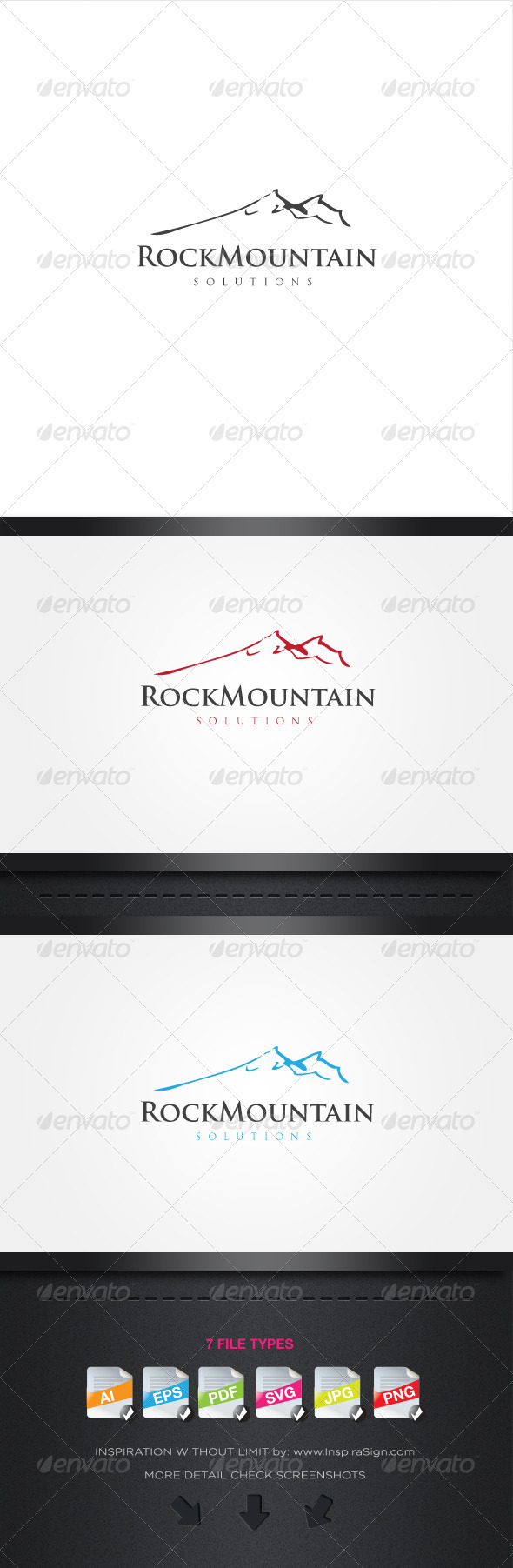 Rock Mountain - Simple Logo For Your Company