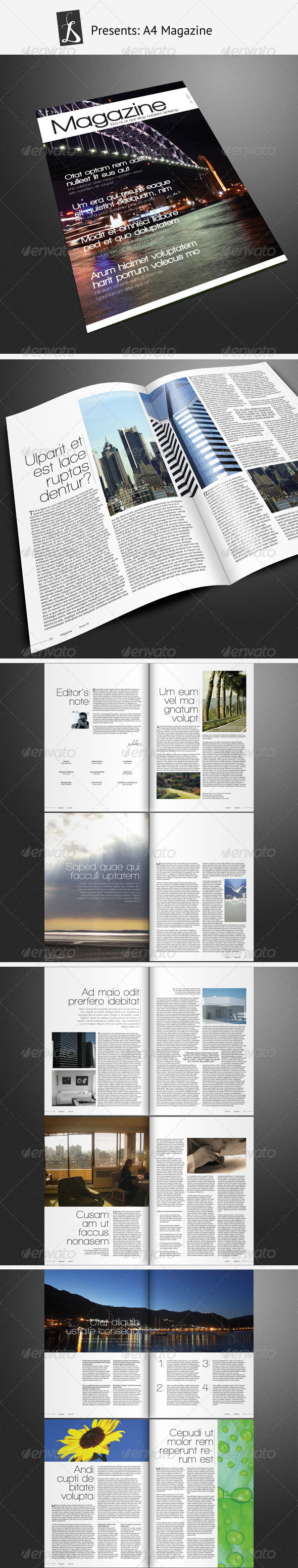 GraphicRiver Magazine Template 310010
