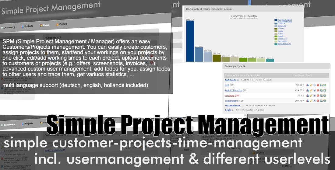 CodeCanyon SPM Simple Project Manager 52454
