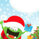 Monster's Christmas Message - GraphicRiver Item for Sale