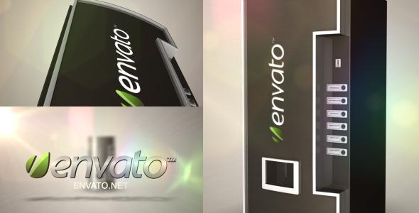 VideoHive The Perfect Logo Vending Machine 3186733