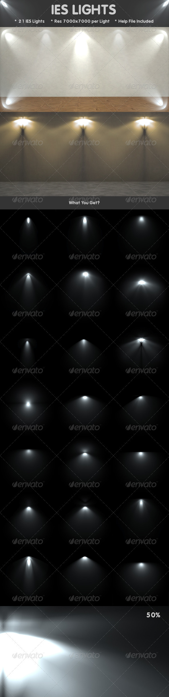 IES Lights - Decorative Graphics