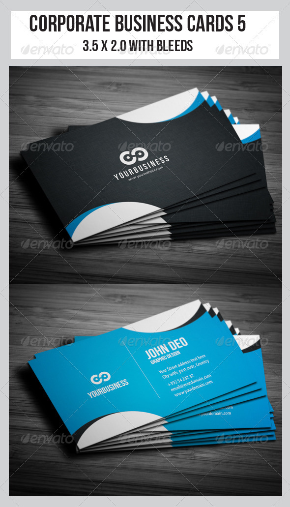 Corporate Business Cards 5 - Corporate Business Cards