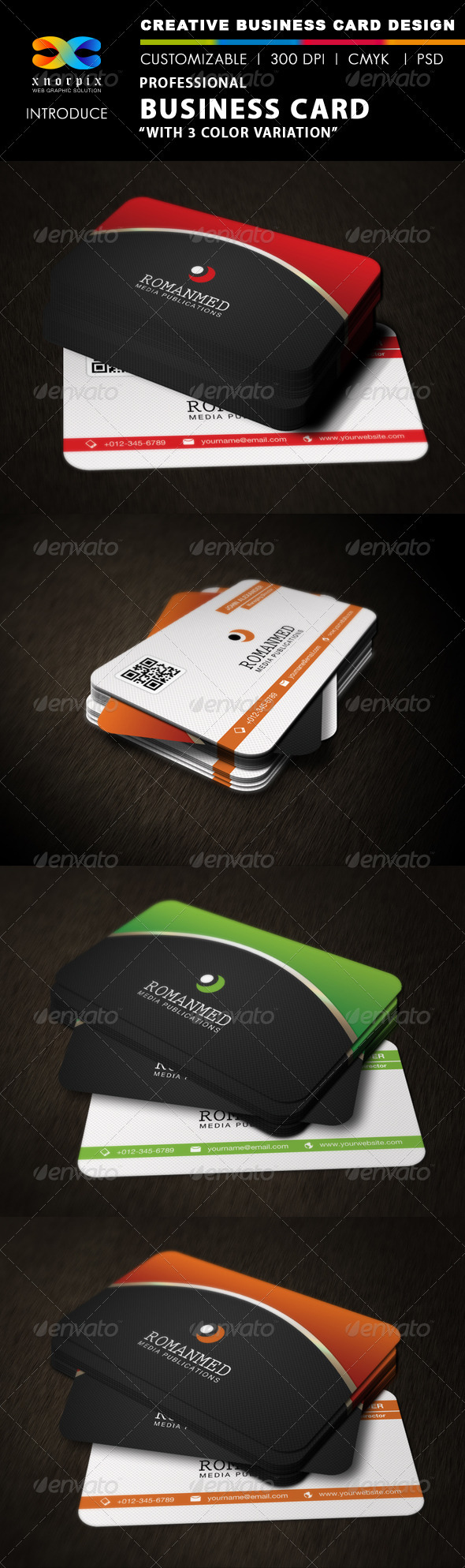 GraphicRiver Professional Business Card 3202852