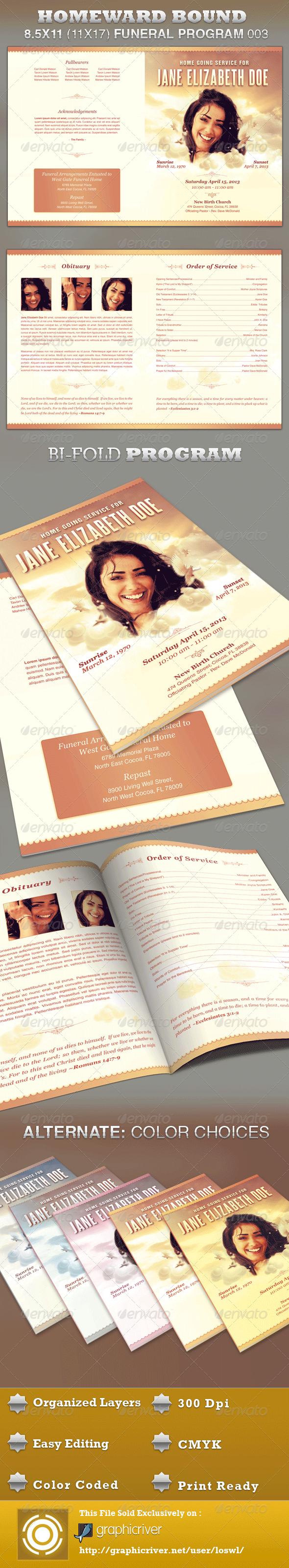 GraphicRiver Homeward Bound Funeral Program Template 003 3187927