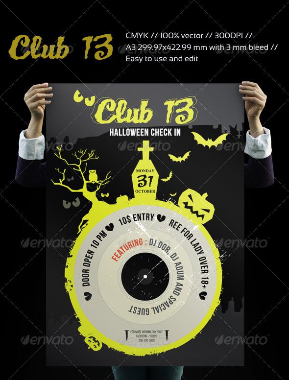 CLUB13 HALLOWEEN