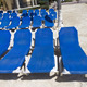 Blue Beach Lounge Chairs - PhotoDune Item for Sale